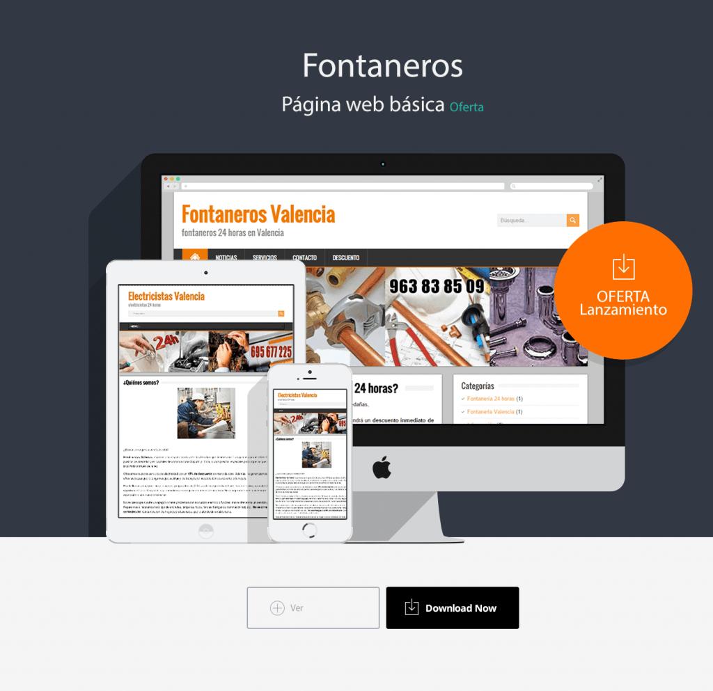 fontaneros-diseño-web
